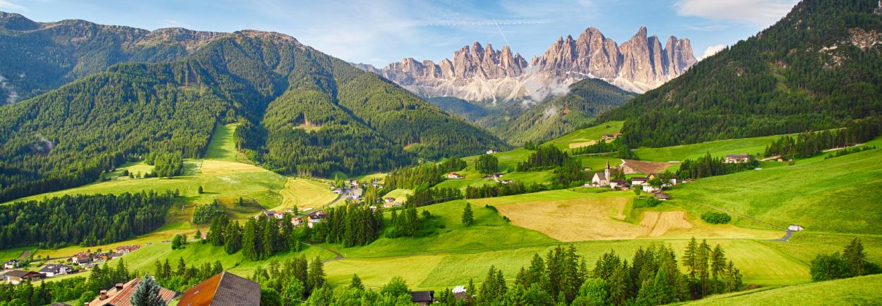 Panoramareis Oostenrijk en Italië - Lesachtal - Midden tussen de Karnische Alpen en de Lienzer Dolomieten