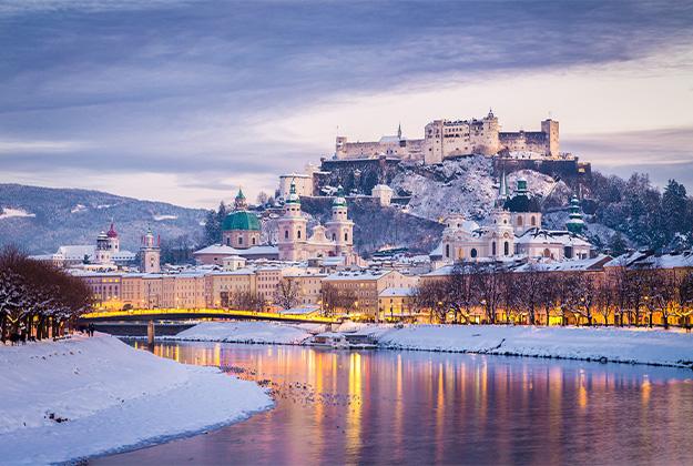 Altenmarkt met dagtocht Salzburg - Al jaren in zowel de winter als de zomer één van de meest geliefde reizen uit ons programma