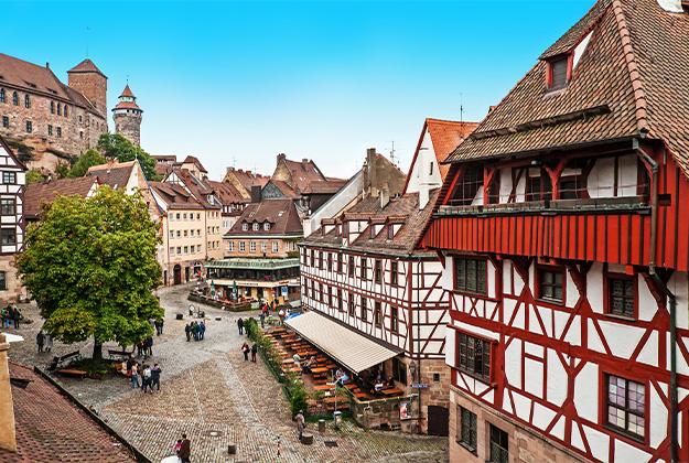 Bamberg, Nürnberg en Rothenburg in het Steigerwald - De perfecte combinatie van natuur en cultuur