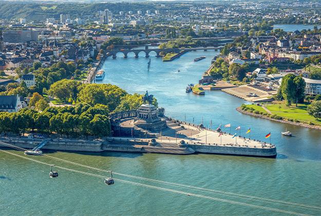 Koblenz, Heidelberg en Rüdesheim - Een bezoek aan drie prachtige oude steden!