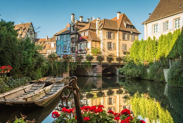Romantische Elzas met Straatsburg - een uniek stukje Frankrijk, met een eigen cultuur