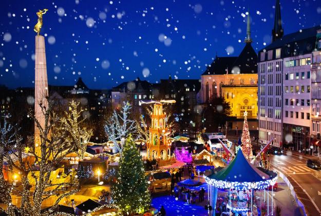 Luxemburg en de Ardennen met kerst, midden in het prachtige natuurgebied Südeifel